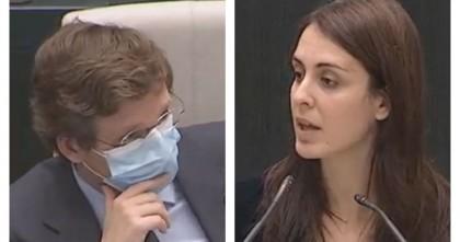 Rita Maestre emociona a Almeida con sus palabras en el Pleno del Ayuntamiento