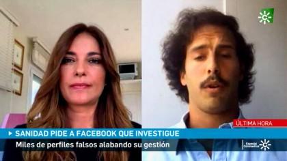 """Mariló publicita a la empresa de su hijo para informar sobre los """"bots"""" en el perfil de Sanidad en Facebook"""