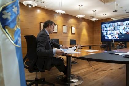 Feijóo, Ayuso y Juanma Moreno se desmarcan de Casado y apuestan por apoyar la prórroga del estado de alarma