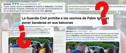 ¿Qué sabemos sobre el artículo de 'El Español' que afirma que la Guardia Civil prohíbe a los vecinos de Pablo Iglesias…