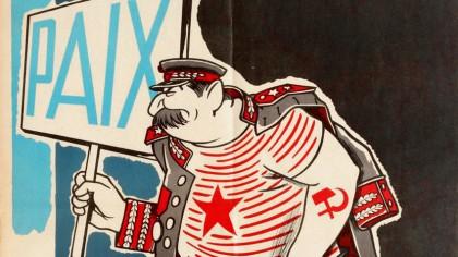 Estos coloridos carteles de propaganda occidental demonizaban a la Unión Soviética