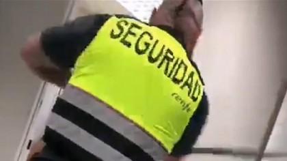 """Renfe despide a un agente de seguridad que antes de entrar a trabajar golpea la pared y grita """"¡Estoy a tope!"""""""