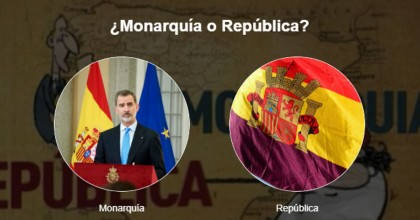 Encuesta: ¿Monarquía o república?