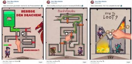 ¿Es legal que un anuncio para juegos móviles muestre un gameplay falso?
