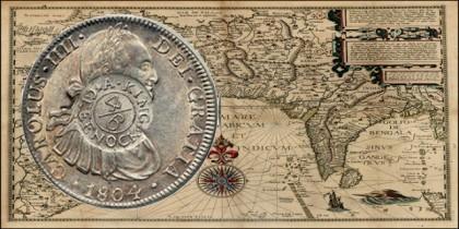 El Real de a Ocho. Primera divisa mundial