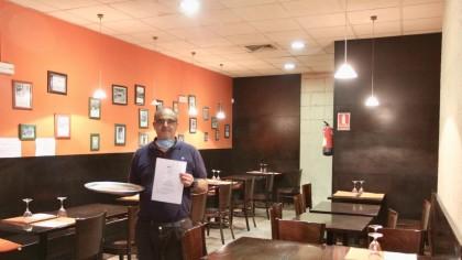 """El teletrabajo amenaza la supervivencia de bares y restaurantes: """"He pasado de dar 60 menús diarios a solo 7"""""""