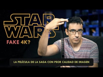 Episodio I de Star Wars, ¿FAKE 4K?