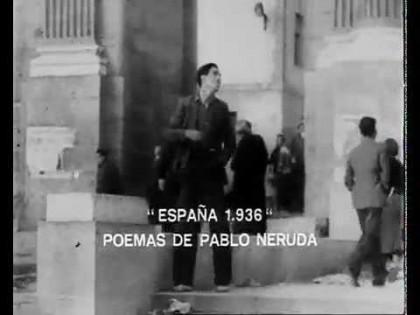 Bombardeos Madrid (Poema de Pablo Neruda)