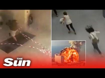 La explosión de Beirut desde el interior de su hospital