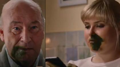 Coronavirus: anuncio de TV escocés muestra cómo se contagia a familiares
