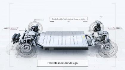 Nueva plataforma modular de Geely. Código abierto, flexibilidad y hasta 700 km de autonomía