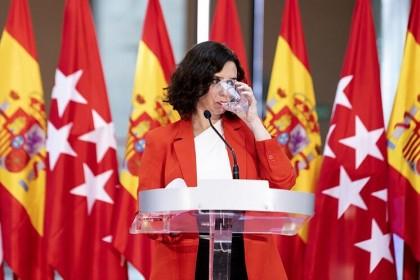 """Ayuso advierte a Illa de que el confinamiento total de Madrid no es posible: """"Nos estamos arruinando"""""""