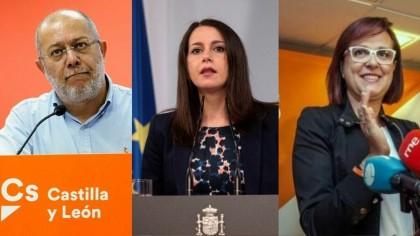 Arrimadas fulmina a los líderes de Ciudadanos en Murcia y Castilla y León