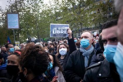 El Gobierno francés confirma que el profesor decapitado el viernes fue objeto de una fatua