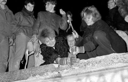 """""""La noche de la caída del Muro de Berlín fue la peor de mi vida"""""""