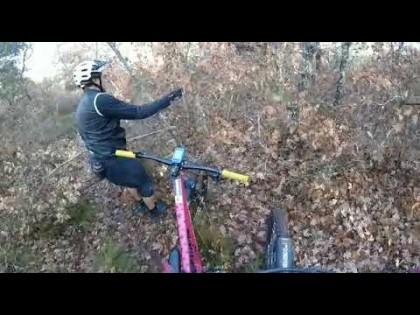 Encuentran tres trampas para ciclistas en una senda de Santa Cruz De Montes