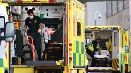 El Reino Unido notifica 1.610 nuevos muertos de coronavirus en el último día, récord de la pandemia