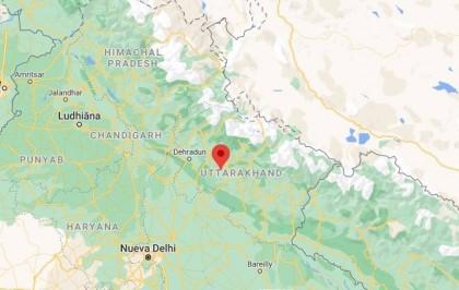 Una riada por el colapso de un glaciar deja nueve muertos y más de 100 desaparecidos en el norte de India