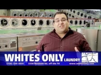 Anuncio: Lavandería sólo de blancos [ENG]