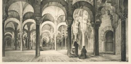 Los sorprendentes dibujos de Prangey sobre la Mezquita-Catedral de Córdoba hacia 1839