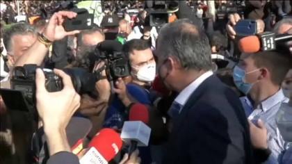 """Ortega Smith ayer en Vallecas: """"La mayoría de esta gente es gentuza"""""""