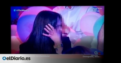 La televisión gallega arrincona en directo a una joven de 20 años para que se reúna con su expareja, de la que se separ