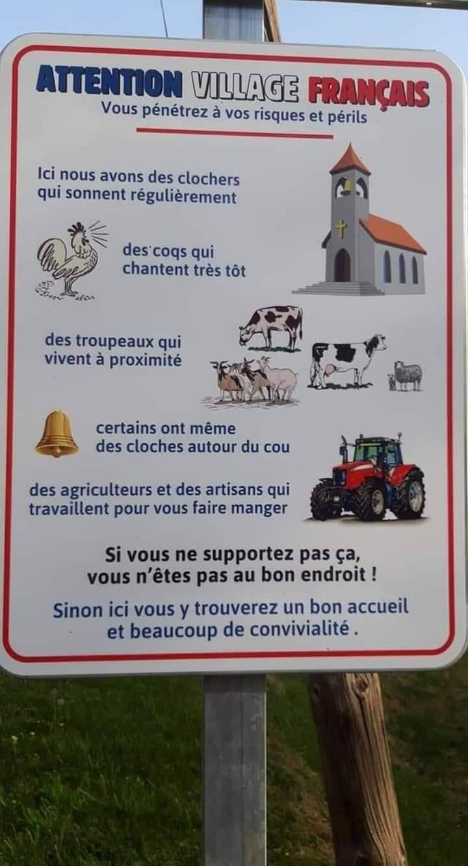 Cartel rural francés