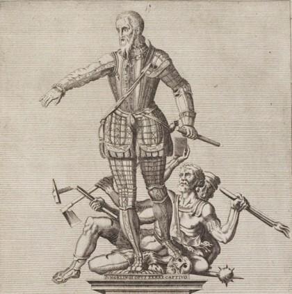 La controvertida estatua del duque de Alba en Flandes, hecha con cañones capturados al enemigo
