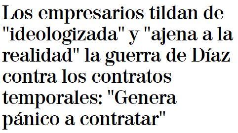 """""""Ideologizada y ajena a la realidad"""""""