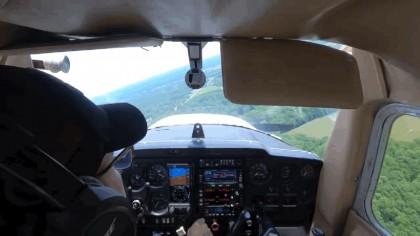 Este piloto con menos de 80 horas de vuelo se enfrenta a su peor pesadilla: se queda sin motor en el aire