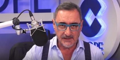 Carlos Herrera expulsa a Fidalgo de la tertulia de COPE