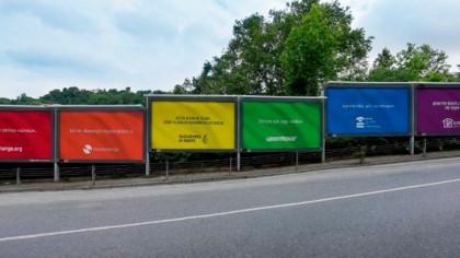 6 marcas se han unido para mostrar la bandera arcoíris en Turquía a través de 6 vallas publicitarias