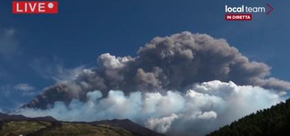 El volcán Etna vuelve a erupcionar