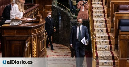 """Un diputado de Vox llama """"bruja"""" a una del PSOE y se niega a abandonar el Congreso tras ser expulsado"""