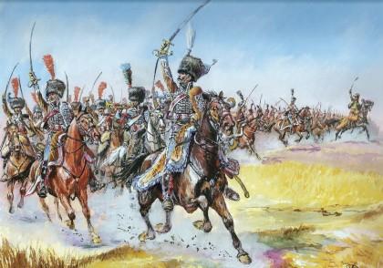 ¿Cómo era la caballería napoleónica?