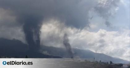 El cono del volcán de La Palma se rompe y libera una gran colada de lava