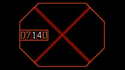 Diez minutos de recreación de la cuenta atrás de la destrucción de emergencia de la nave Nostromo de Alien