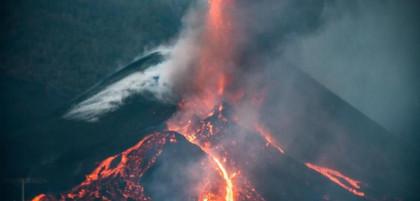 La isla de La Palma se ha elevado 10 centímetros en las últimas 24 horas